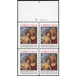us stamp postage issues 2790a christmas madonna and child 1993
