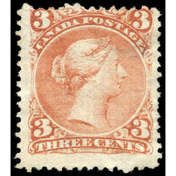 canada stamp 25 queen victoria 3 1868 m vg 011