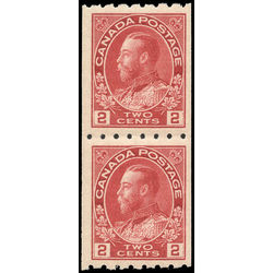 canada stamp 124pa king george v 1913