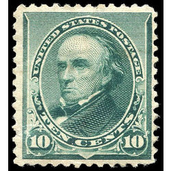 us stamp postage issues 226 webster 10 1890 m nh 001