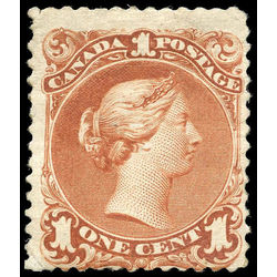 canada stamp 22b queen victoria 1 1868 m vg 003