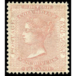 british columbia vancouver island stamp 2a queen victoria 2 d 1860