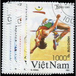 viet nam north stamp 2215 2221 1992 summer olympic games barcelona 1992