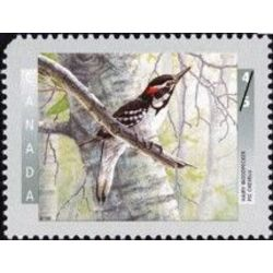 canada stamp 1710 hairy woodpecker 45 1998
