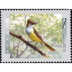 canada stamp 1711 great crested flycatcher 45 1998