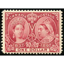 canada stamp 61 queen victoria jubilee 1 1897 m vfnh 027