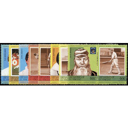 st vincent stamp 403s cricket players 1985