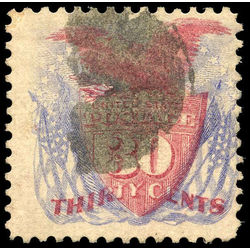 us stamp postage issues 121 shield flags 30 1869 u 002