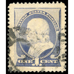 us stamp postage issues 212 franklin ultramarine 1 1887 jumbo 001