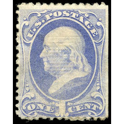us stamp postage issues 134 franklin 1 1870 m 001