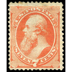 us stamp postage issues 160 stanton 7 1873 m 002