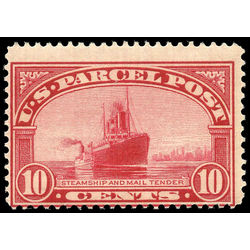 us stamp q parcel post q6 steamship parcel poste 10 1912 m nh 001
