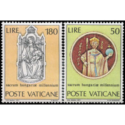 vatican stamp 513 4 millenium of the birth of st stephen king of hungary 1971