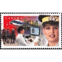canada stamp 1737 modern view with helicopter and computer operator 45 1998