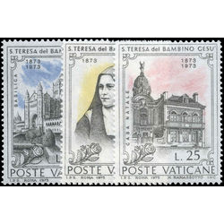 vatican stamp 534 6 st theresa of lisieux and of the infant jesus 1973
