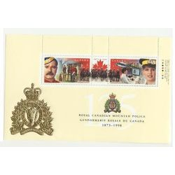 canada stamp 1737b rcmp 125th anniversary 1998