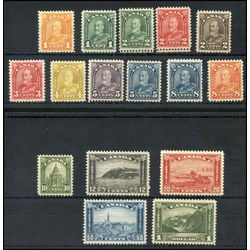 canada george v arch leaf mvfnh collection