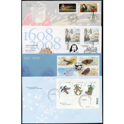 canada first day cover collection 2007 8