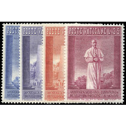 vatican stamp 239 42 pope pius xii 1958