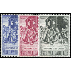 vatican stamp 266 8 nativity by raphael 1959