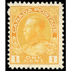 canada stamp 105iv king george v 1 1924