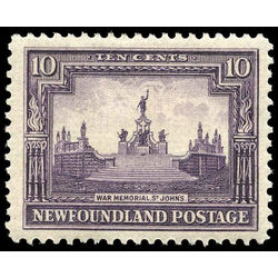 newfoundland stamp 153 war memorial 10 1928