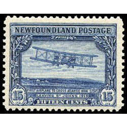 newfoundland stamp 156 first nonstop transatlantic flight 15 1928