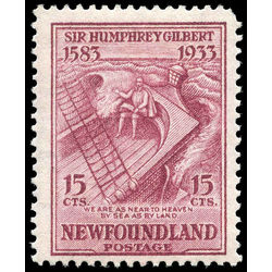 newfoundland stamp 222 gilbert on the squirrel 15 1933