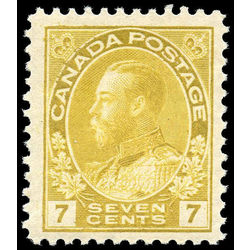 canada stamp 113iii king george v 7 1912