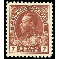 canada stamp 114v king george v 7 1924