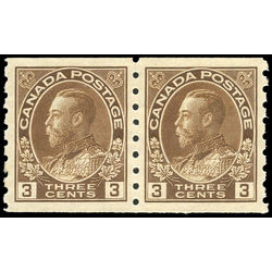 canada stamp 129pa king george v 1918