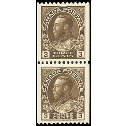canada stamp 134pa king george v 1921