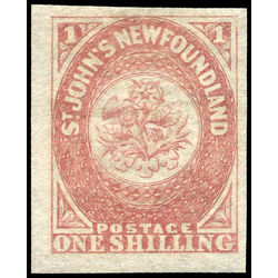 newfoundland stamp 23 1861 third pence issue 1sh 1861