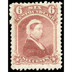 newfoundland stamp 35 queen victoria 6 1870