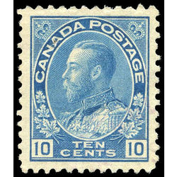 canada stamp 117ii king george v 10 1922
