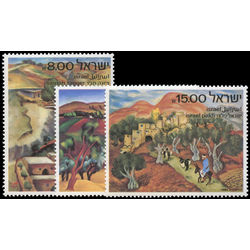 israel stamp 815 7 landscapes 1982
