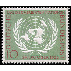 germany stamp 736 united nations day 1955