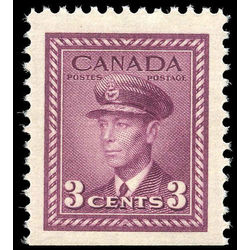 canada stamp 252as king george vi in airforce uniform 3 1943