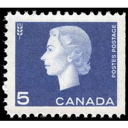 canada stamp 405as queen elizabeth ii 5 1962