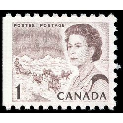 canada stamp 454d queen elizabeth ii northern lights 1968