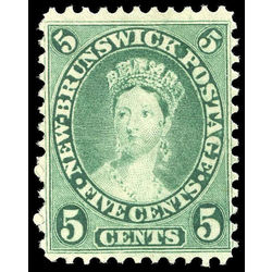 new brunswick stamp 8 queen victoria 5 1860