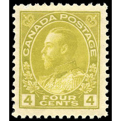 canada stamp 110b king george v 4 1922