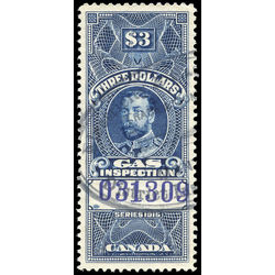 canada revenue stamp fg31b 1915 george v 3 0 1915