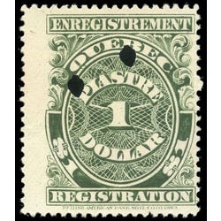 canada revenue stamp qr22 registration 1 1912