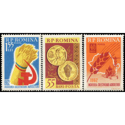 romania stamp 1475 7 collectivization of agriculture 1962