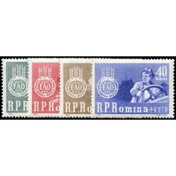 romania stamp 1536 9 fao freedom from hunger campaign 1963