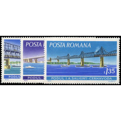 romania stamp 2337 9 danube bridges 1972