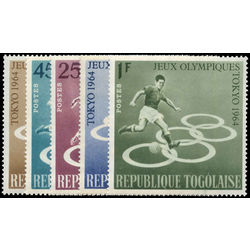 togo stamp 491 4 c43 18th olympic games tokyo 1964