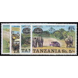 tanzania stamp 74 7 25th safari rally 1977