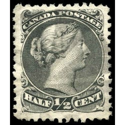 canada stamp 21 queen victoria 1868 u vf 004